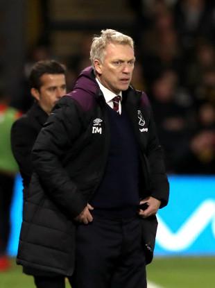 West Ham manager David Moyes.