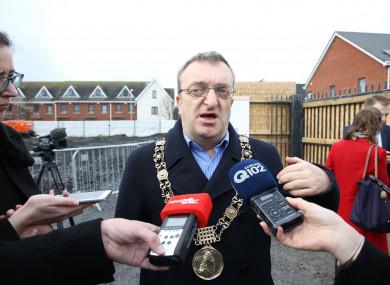 Dublin Lord Mayor Mícheál MacDonncha