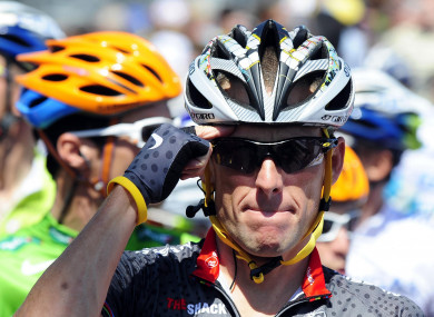 Lance Armstrong (file pic).