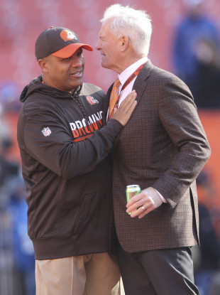 Richard Gere and Julia Roberts star as Hue Jackson and Jimmy Haslam in The Runaway Browns.