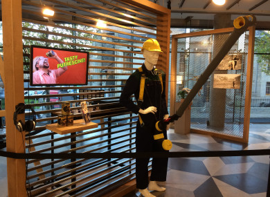 The Science Gallery's current 'In Case of Emergencies' exhibition
