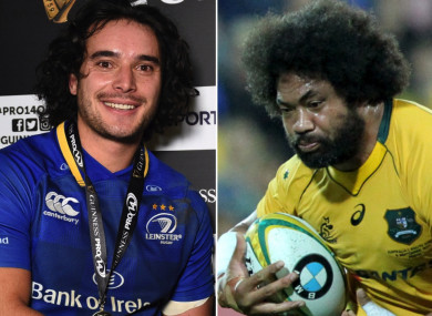 James Lowe and Tatafu Polota-Nau.