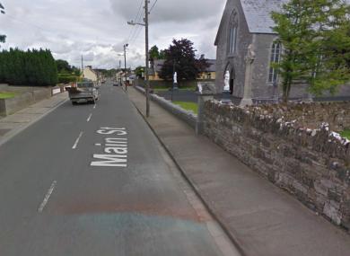The main street in Pallaskenry in Limerick.