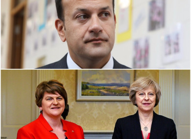 755fd59d34 DUP accuses Irish government of  flexing its muscles in a dangerous and  reckless way
