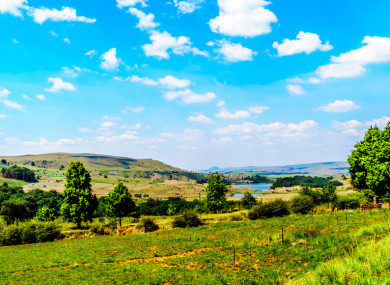 Farmland in Limpopo Province.