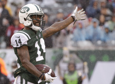 Jeremy Kerley has an unusual explanation for his failed drugs test.