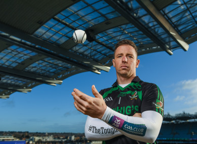Cork and Kanturk goalkeeper Anthony Nash at today's AIB All-Ireland club finals media day.