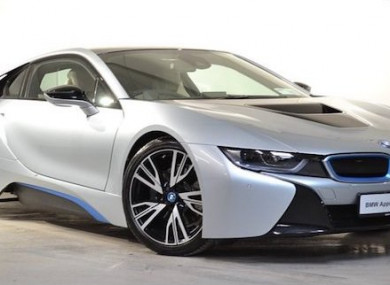 Motor Envy The Bmw I8 Is A Lean Green Supercar Machine Thejournal Ie