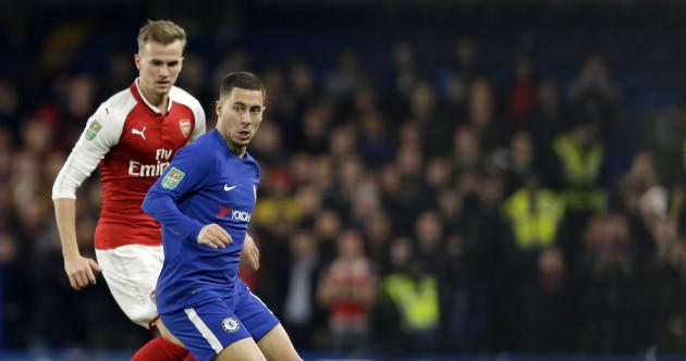 As it happened: Chelsea v Arsenal, League Cup semi-final