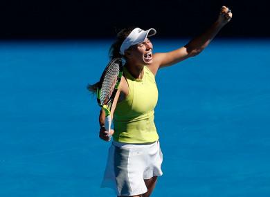 World number two Caroline Wozniacki.