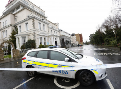 The Regency Hotel, Drumcondra, pictured on 5 February 2016, the day of the shooting