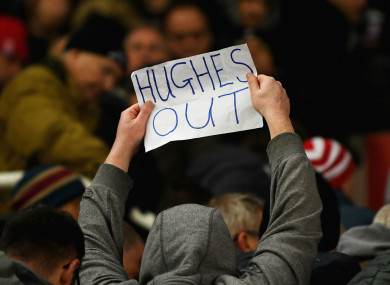 A Stoke fan calls for Mark Hughes to be sacked after defeat to Newcastle
