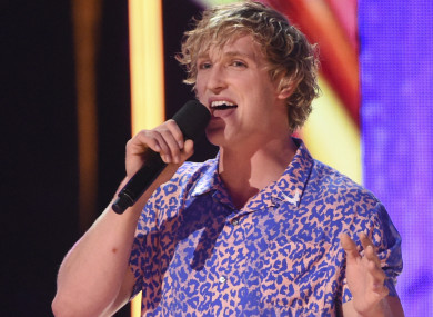 Logan Paul a the Teen Choice Awards in Los Angeles.