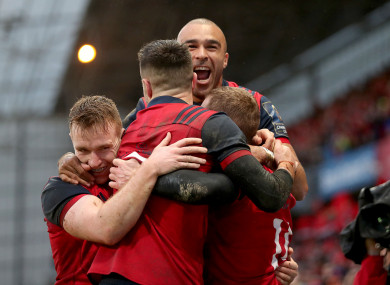 Munster made light work of Castres in Limerick.