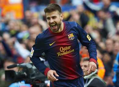 Pique has a new deal to celebrate.