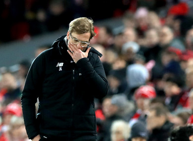 Liverpool suffered their second defeat in the space of a week on Saturday.