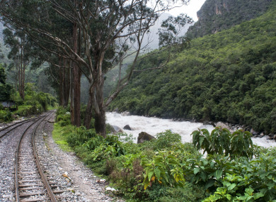 File photo of the river near the Machu Picchu ruins.