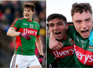 Alan Freeman, Sharoize Akram and Michael Hall all given the chance to impress for Mayo.