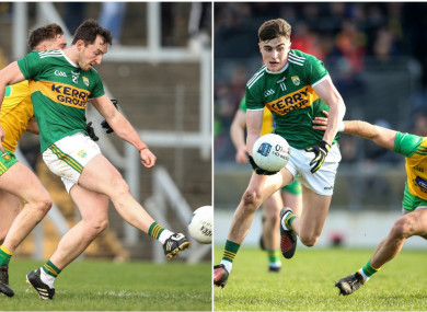 Daithi Casey and Sean O'Shea kicked the crucial points for Kerry today.