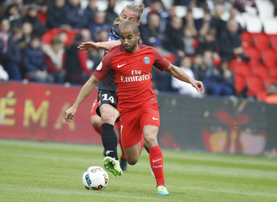 Is Lucas Moura coming to the Premier League?