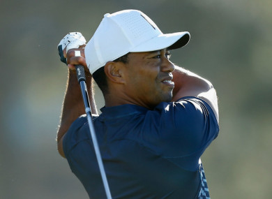 Tiger Woods looked solid at Torrey Pines.