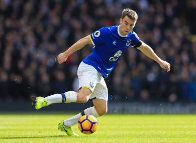 Coleman hasn't featured for Everton's first team at all this season.
