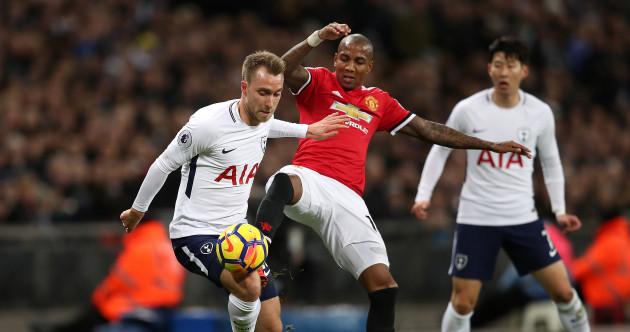 As it happened: Tottenham v Man United, Premier League
