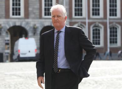 Tribunal chairman Mr Justice Peter Charleton