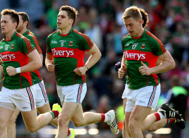 Mayo welcome the All-Ireland champions to Castlebar on Saturday night.
