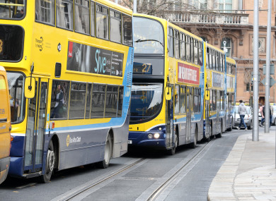 File photo of traffic on College Green.