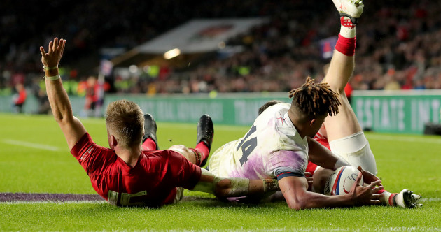 Was this a try? TMO decision denies Wales in their narrow loss against England