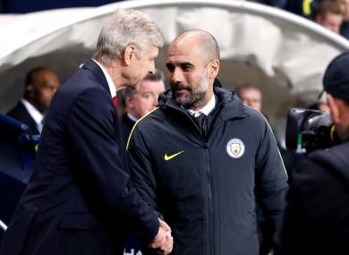 Wenger and Pep.