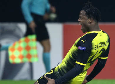 Borussia Dortmund striker Michy Batshuayi.