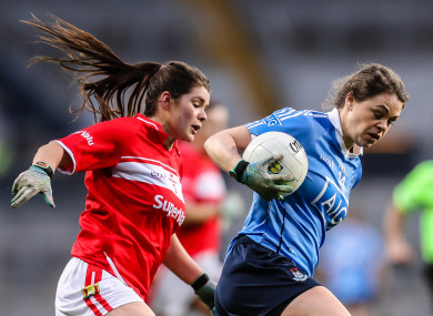 Noelle Healy was named Player of the Match.