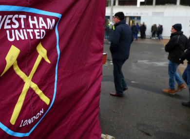 Tony Henry was dismissed by the Hammers on Friday.