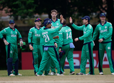 Ireland now face West Indies this weekend.