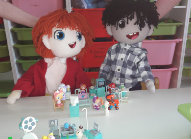 Ben and Tara, Temple Street Children's Hospital's mascots