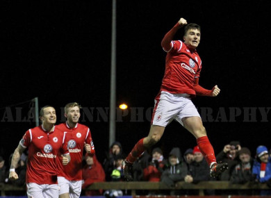 Sligo striker Adam Morgan
