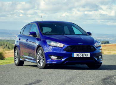 review the ford focus st line has a sporty look but it 39 s a sensible motor at heart. Black Bedroom Furniture Sets. Home Design Ideas