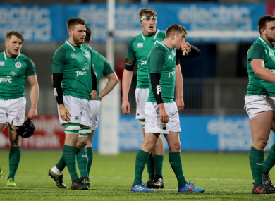 The Irish side suffered a narrow loss to Wales last month.