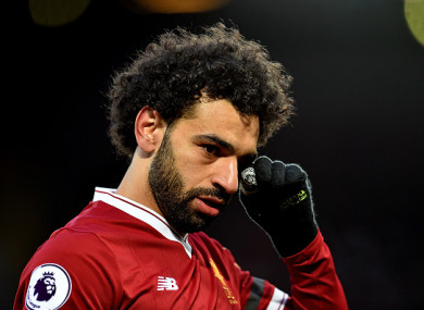 Salah is the top scorer in the Premier League this season with 28 goals.