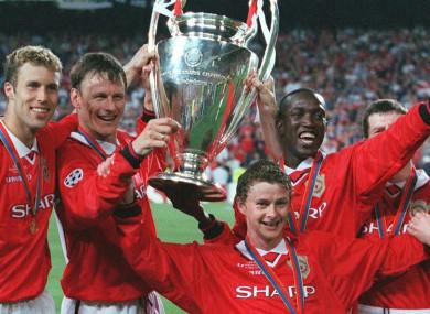 manchester united 1999 treble winners would beat pep s man city