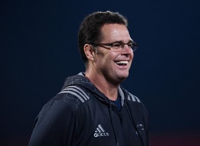 Rassie Erasmus was previously the Director of Rugby at Munster.
