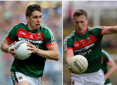 Bad news for Mayo's Lee Keegan, better news for Cillian O'Connor.