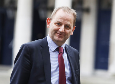 John McGuinness made the remarks about Maurice McCabe (pictured) at the Tribunal today