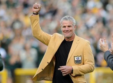 d84e1793e65 NFL great Favre fears he suffered 'thousands' of concussions · The42