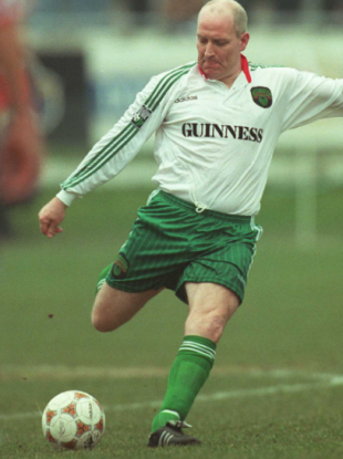 In addition to winning two All-Irelands in GAA, Dave Barry had a successful career as a player and manager with Cork City.