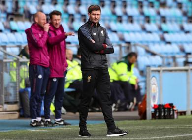 Gerrard has been working with Liverpool's underage teams in recent years.