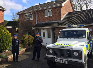Sergei Skripal and his daughter Yulia were poisoned at his home in March.