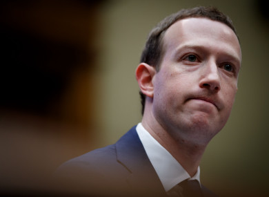 Facebook CEO Mark Zuckerberg testified before Congress this week.